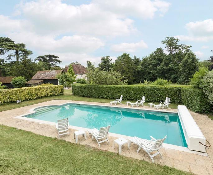 The Old Rectory Private outdoor swimming pool  | The Old Rectory, Hartwell, near Aylesbury