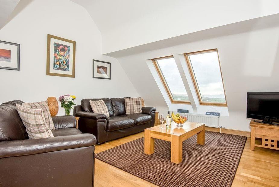 Bwythyn Bach Beautifully decorated living room with spectacular views | Bwthyn Bach, Church Bay, near Holyhead