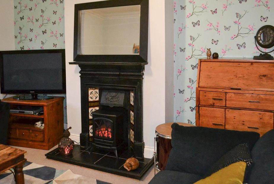 Castaway by the Sea Living room | Castaway by the Sea, Newbiggin-by-the-Sea, near Morpeth