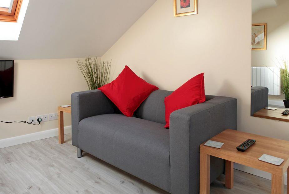 Viking Holiday Let Contemporary living area | Viking Holiday Let, Broadstairs