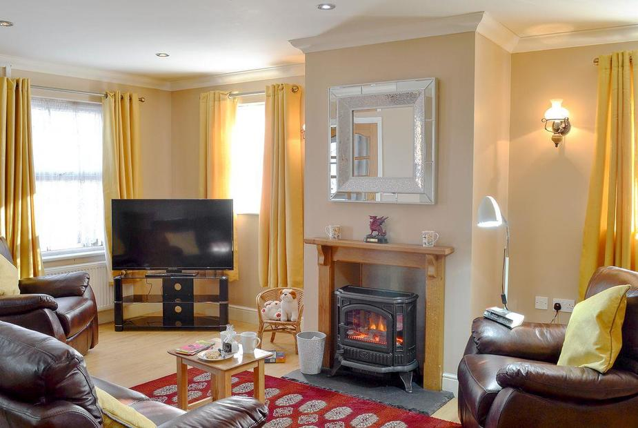 Bryn Villa Wonderful, cosy living room | Bryn Villa, Llansawel, near Llandeilo