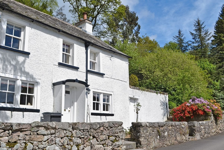 Yew Tree Cottage Exterior | Yew Tree Cottage, Eskdale Estate, nr. Ravenglass