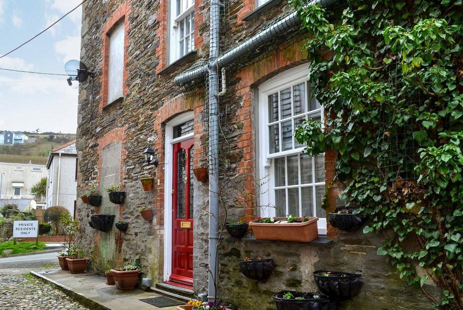 Mill House Traditional, three-storey house    Mill House, Mevagissey