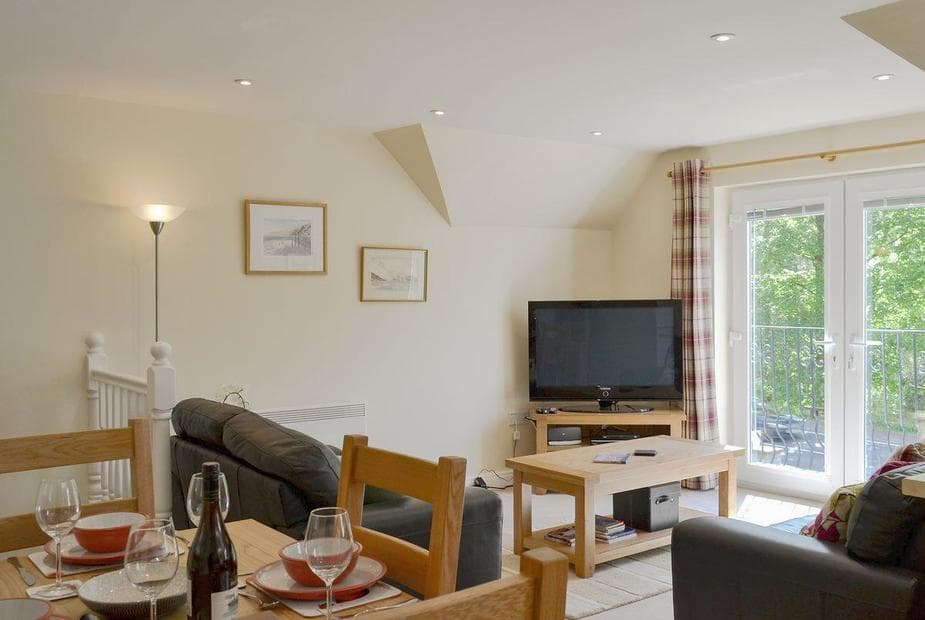 Pine View Well presented open plan living space   Pine View, Invergarry, near Fort William