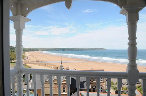 Snaptrip - Last minute cottages - Beautiful Woolacombe Rental S12232 - View 1  from Decked Veranda