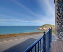 Snaptrip - Last minute cottages - Gorgeous Ilfracombe Rental S12381 - View from Balcony