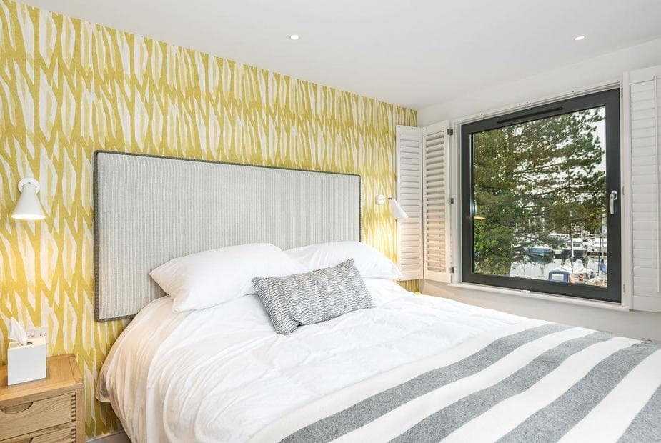 7 The Salterns Beautifully decorated double bedroom with harbour views | Number 7 - The Salterns,  Chichester Marina