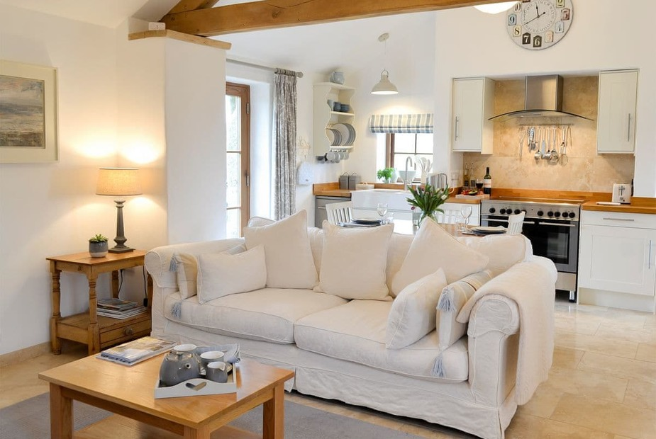 Emma's Barn Open plan living space | Emma's Barn, St Just, Penzance