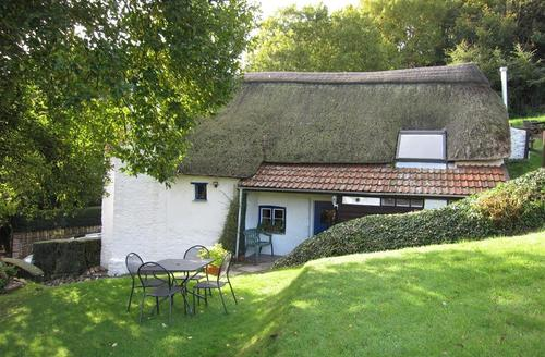 Snaptrip - Last minute cottages - Tasteful Combe Martin Cottage S43869 - Self catering thatch cottage Combe Martin