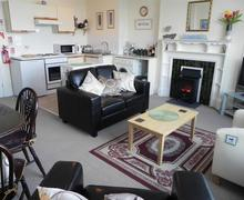 Snaptrip - Last minute cottages - Luxury St Ives Carbis Bay Lelant Apartment S43875 - Open plan living in Carbis Bay apartment