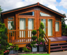 Snaptrip - Last minute cottages - Stunning Honiton Lodge S45760 -