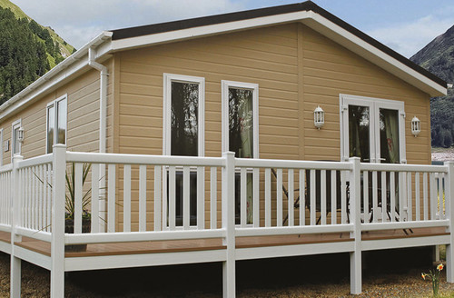 Snaptrip - Last minute cottages - Exquisite Holsworthy Lodge S45782 -