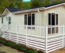 Snaptrip - Last minute cottages - Lovely North Walsham Lodge S45808 -