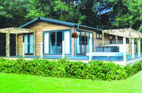 Snaptrip - Last minute cottages - Excellent Holsworthy Lodge S45855 -