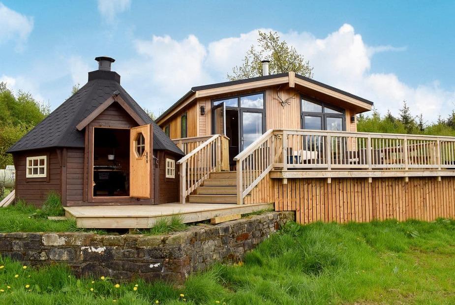 The Lodge Exterior | The Lodge, Drymen, near Loch Lomond