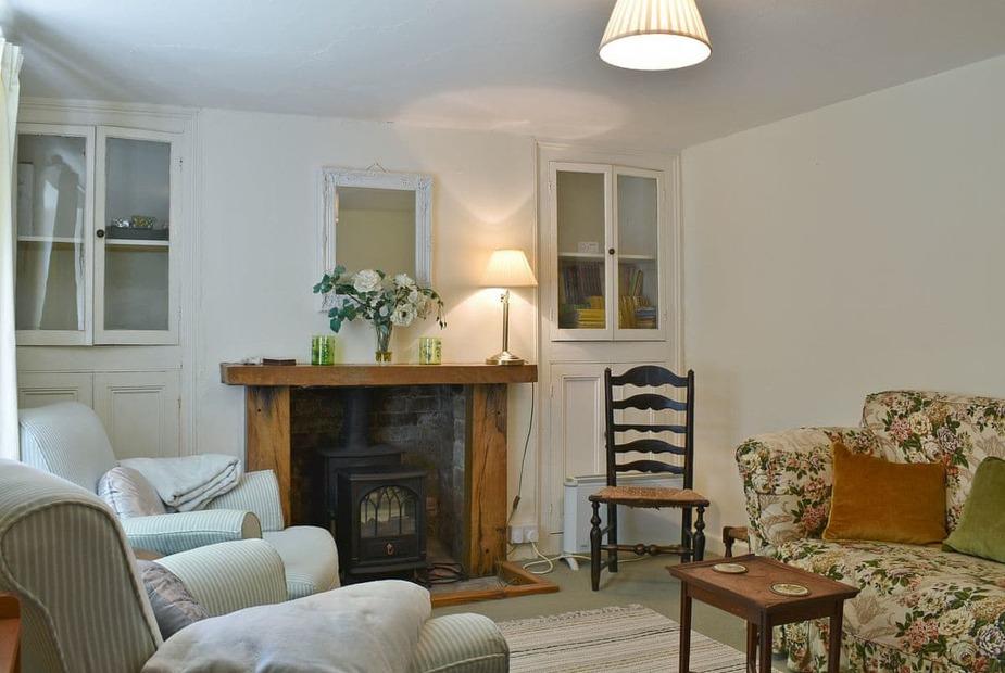 Rhyme Horn Cottage Living room | Rhyme Horn Cottage, Holnest, near Sherborne