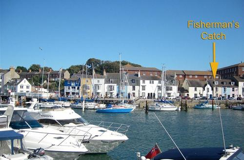 Snaptrip - Last minute cottages - Splendid Weymouth Cottage S50101 - Location