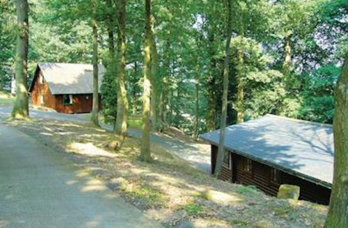 Snaptrip - Last minute cottages - Wonderful Garthmyl Lodge S52414 - The woodland setting