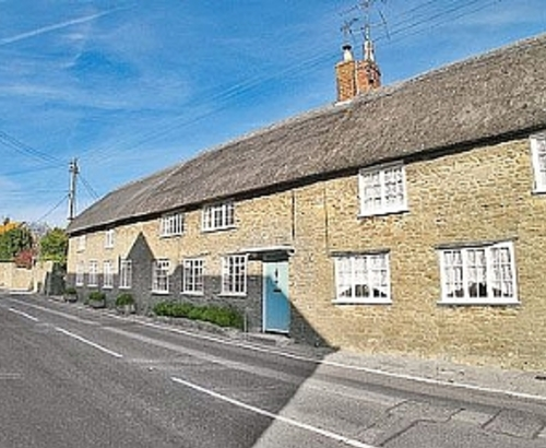Listed Thatched Cottage In Burton Bradstock Front