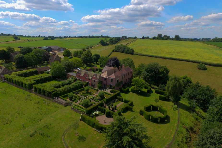 Elinor Fettiplace Pauntley Court Aerial