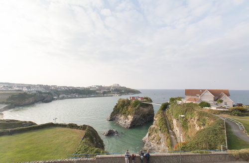 Snaptrip - Last minute cottages - Beautiful Newquay Edwardian S1129 -