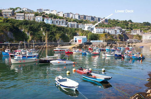 Snaptrip - Last minute cottages - Delightful Mevagissey Apartment S9002 -