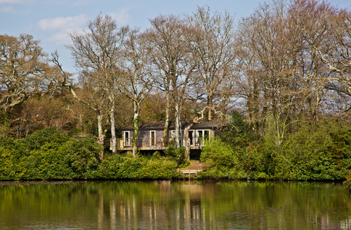 Snaptrip - Last minute cottages - Captivating Bovey Tracey Lodge S9627 -