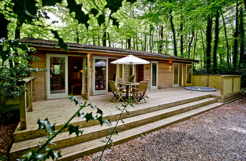 Snaptrip - Last minute cottages - Adorable Bovey Tracey Lodge S9645 -