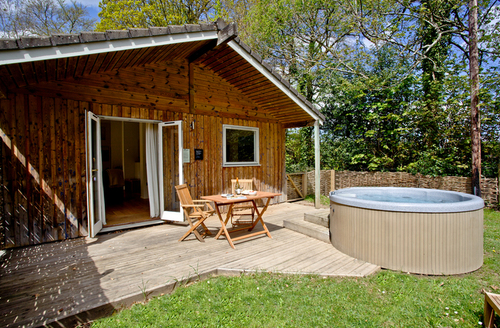 Snaptrip - Last minute cottages - Superb Bovey Tracey Lodge S9647 -