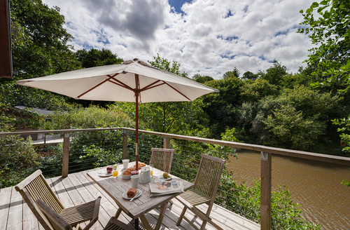 Snaptrip - Last minute cottages - Beautiful Cornwall Lodge S9655 -