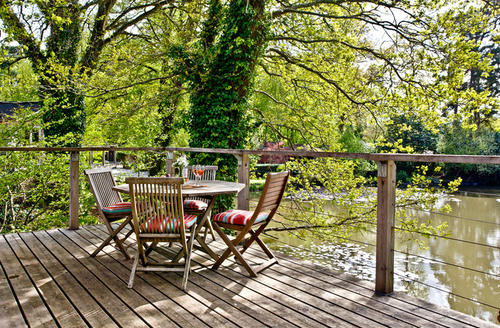 Snaptrip - Last minute cottages - Excellent Bovey Tracey Lodge S9658 -
