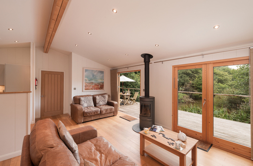 Snaptrip - Last minute cottages - Excellent Cornwall Lodge S9671 -