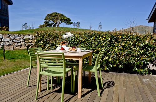 Snaptrip - Last minute cottages - Luxury Carbis Bay Lodge S9707 -