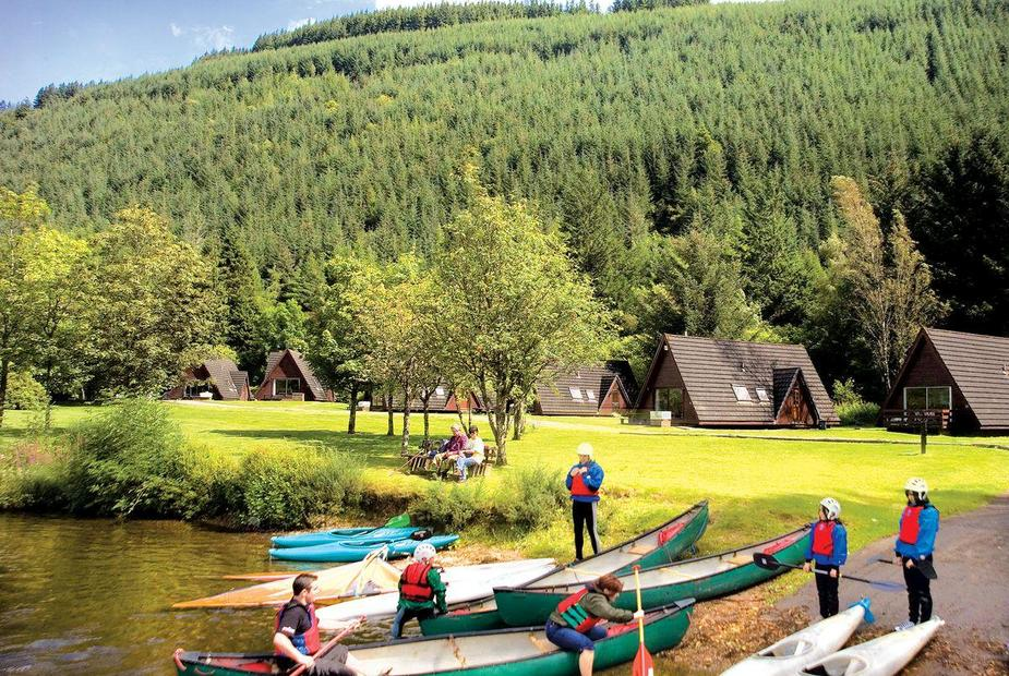 Loch Oich Spa Lodge A variety of watersports available