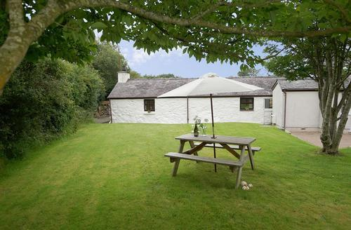 Snaptrip - Last minute cottages - Captivating Caernarfon Cottage S60592 - Yr-hen-bwthyn-exterior-16