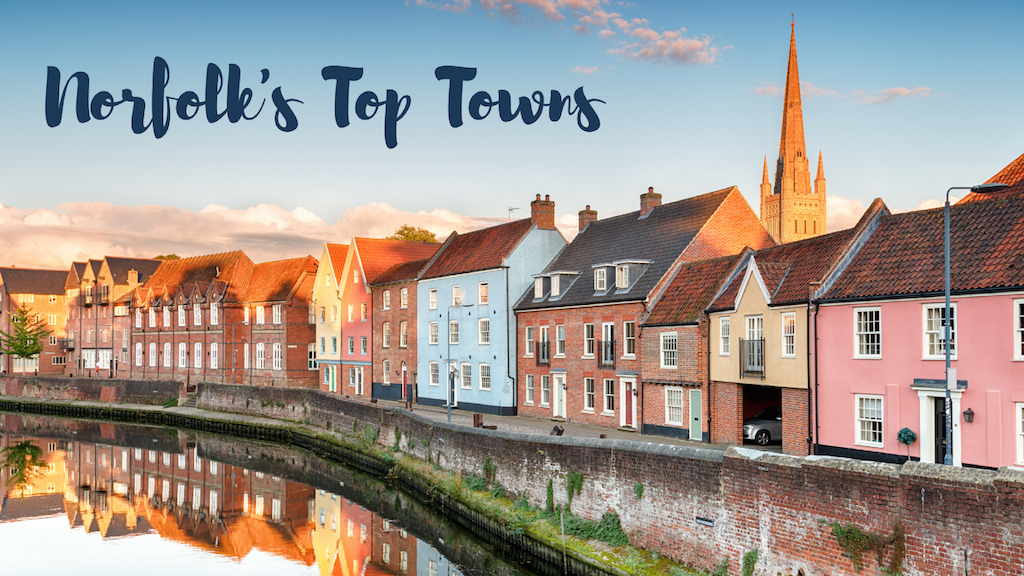 The best towns to stay in Norfolk