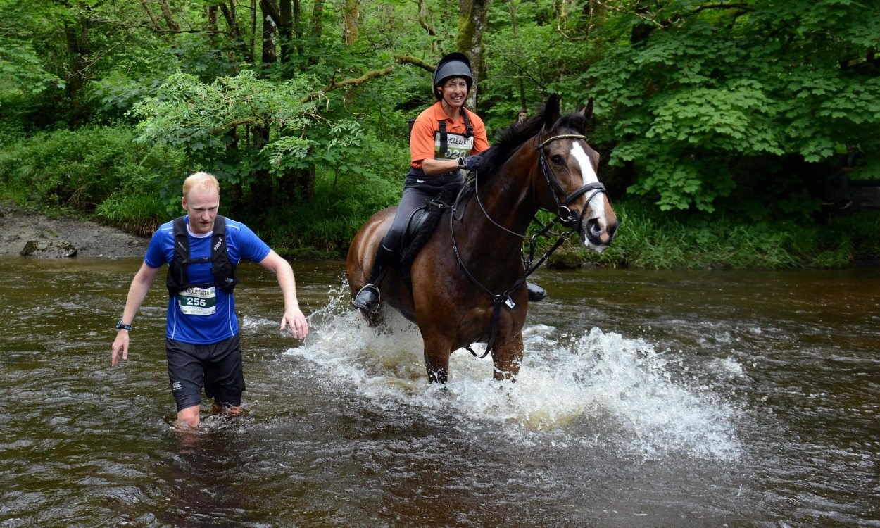 Man vs Horse Marathin
