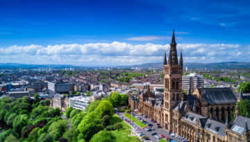 An overview of the stunning Glasgow; 5 exciting UK destinations within 2 hours of Glasgow
