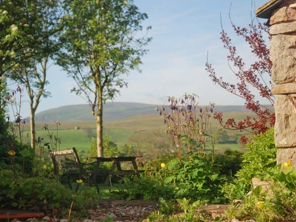 View from the cottage, out over the Cumbrian hills