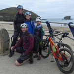 At the start of the Cornish Coast to Coast 3