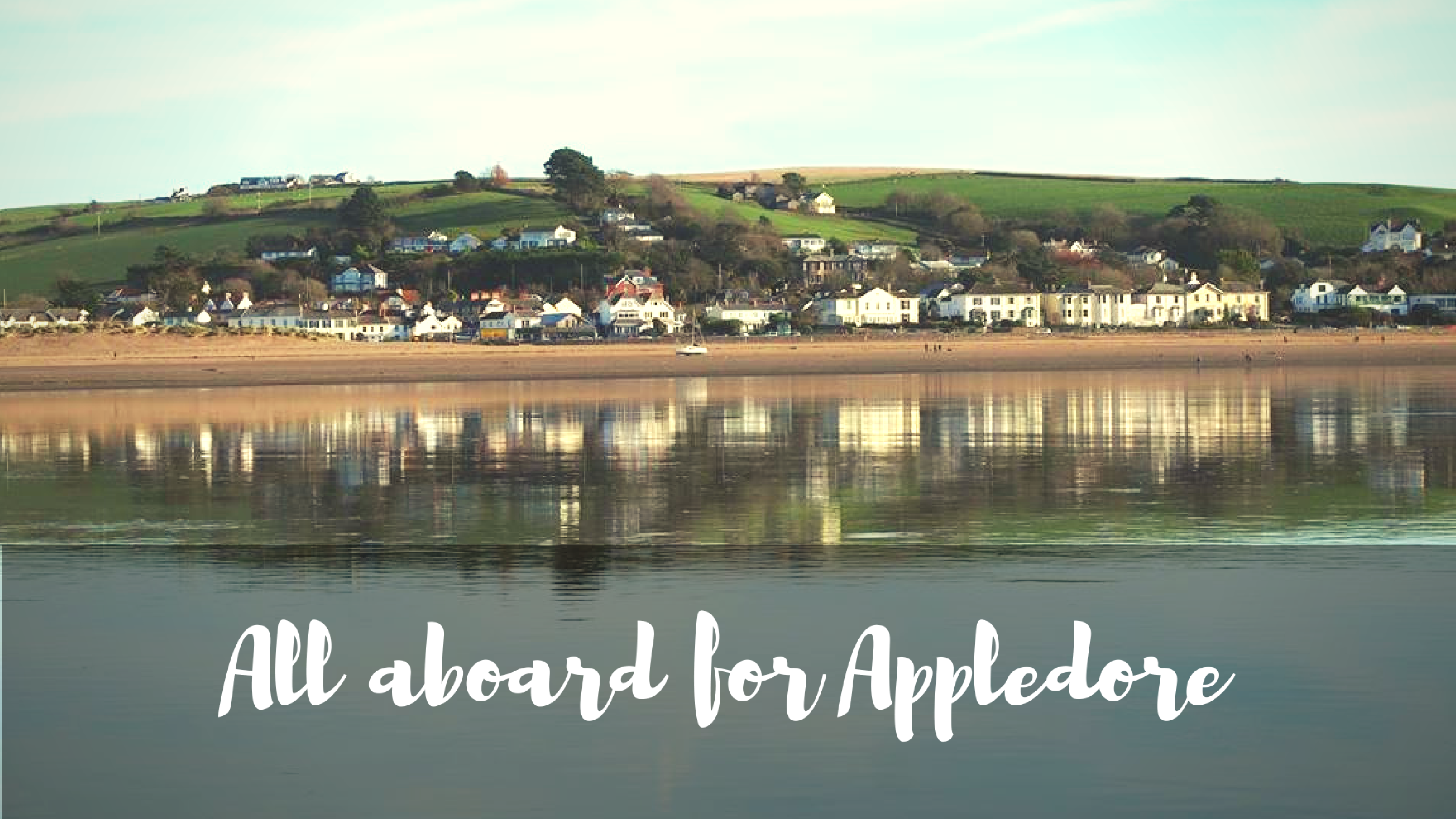 All aboard for Appledore