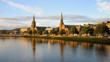 Inverness things to do: the beautiful scenery of Inverness