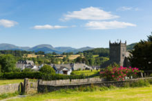 A beautiful view of one of the best towns to stay in the Lake District