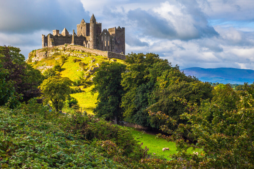 Rock of Cashel, one of the best views in Ireland