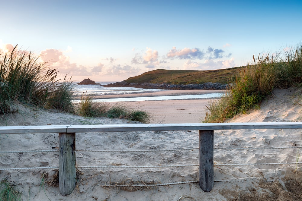 Cratnock Beach, one of the best beaches in Cornwall