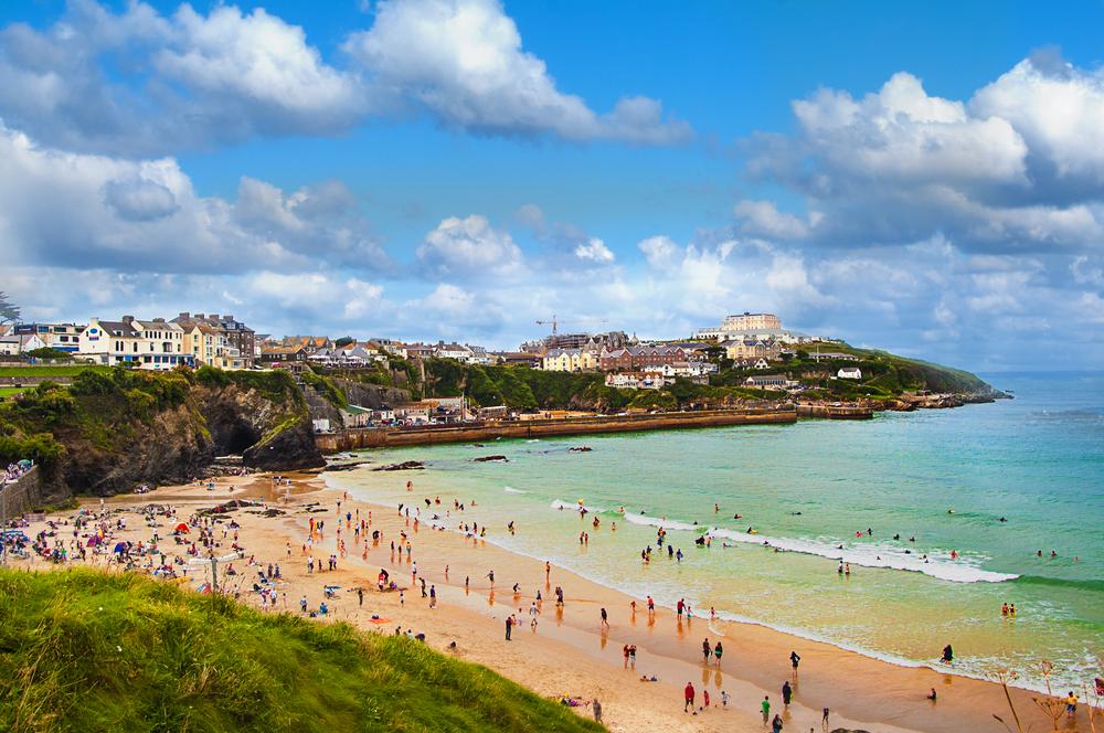 Fistral beach Cornwall