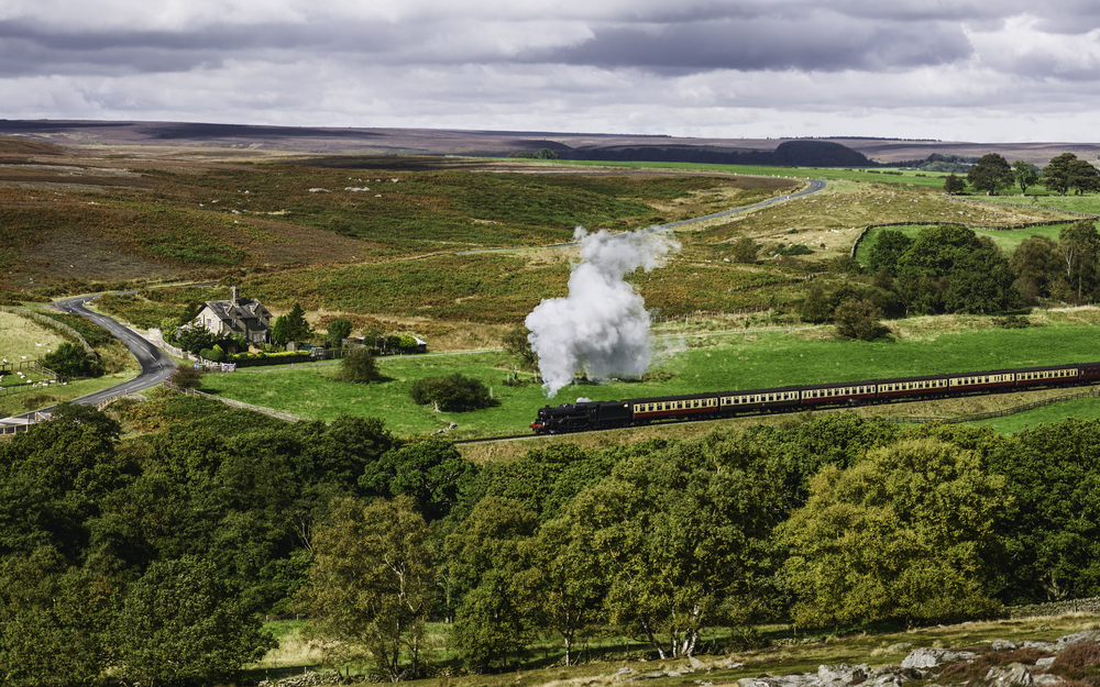 North York Moors National Park and Railway