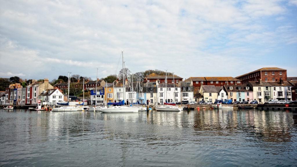 Waterside views of Weymouth