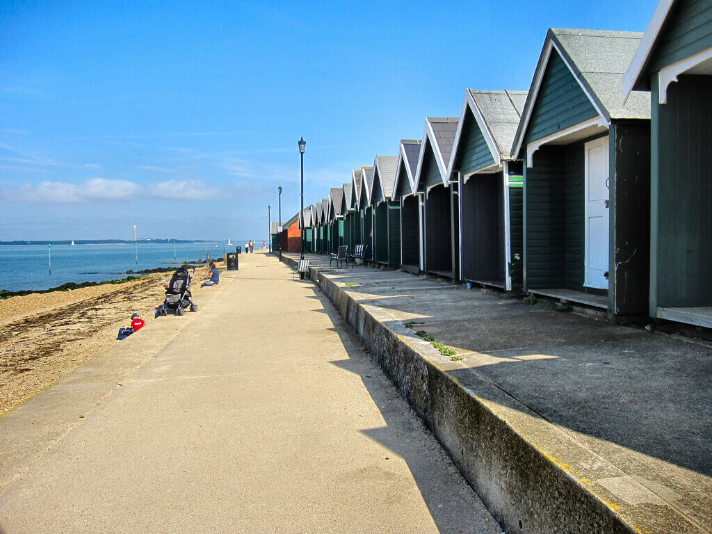Cowes, one of the best towns to stay in the Isle of Wight