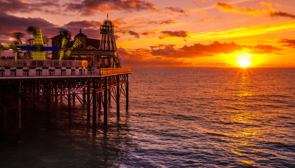 A view of Brighton, one of the best towns to stay near London